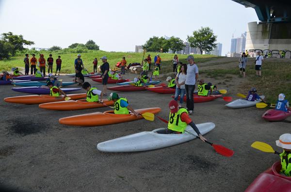 カヌー教室