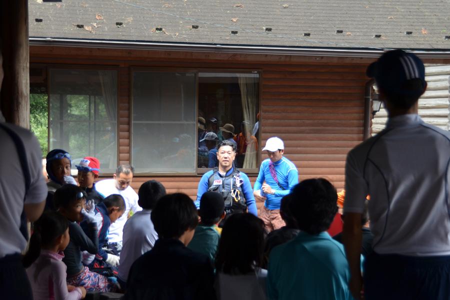 奥多摩安全教室キャンプ