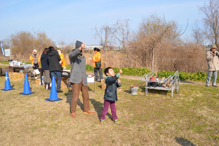 凧揚げ 雑煮 清掃活動