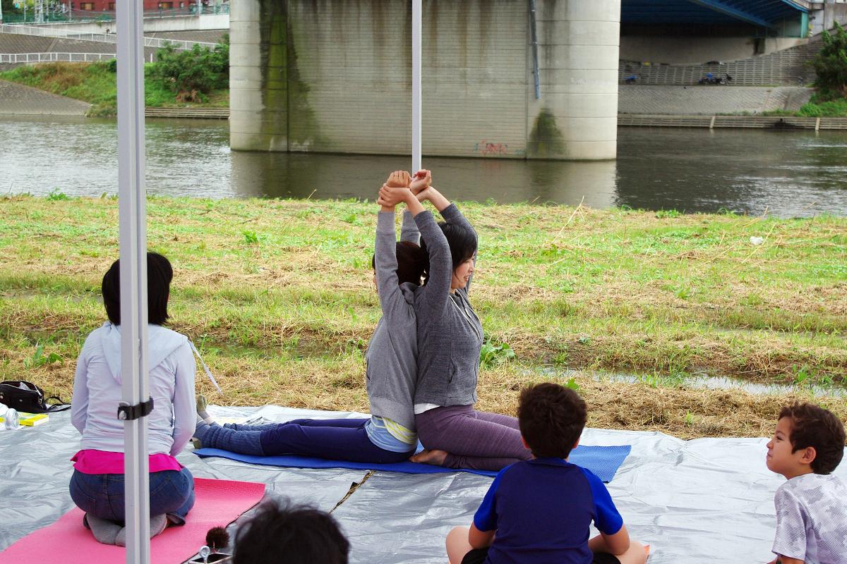 『多摩川で和む e 体験』