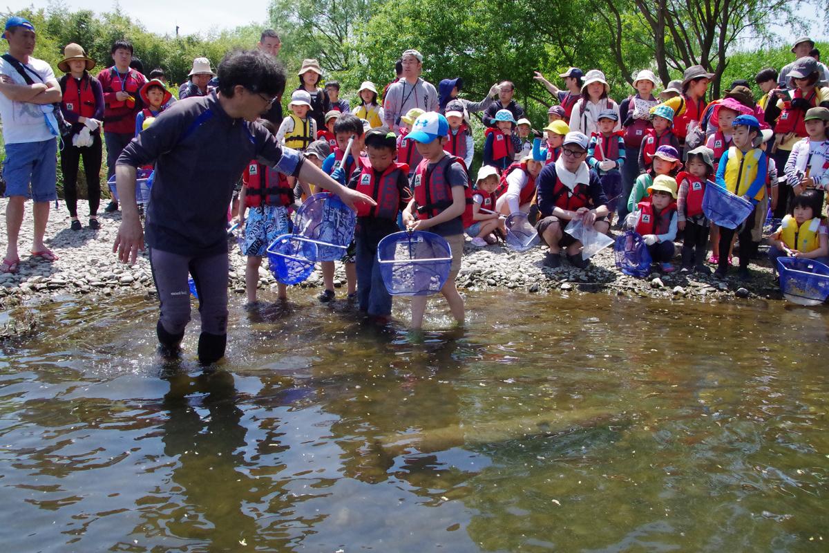 とどろき水辺の楽校開校式