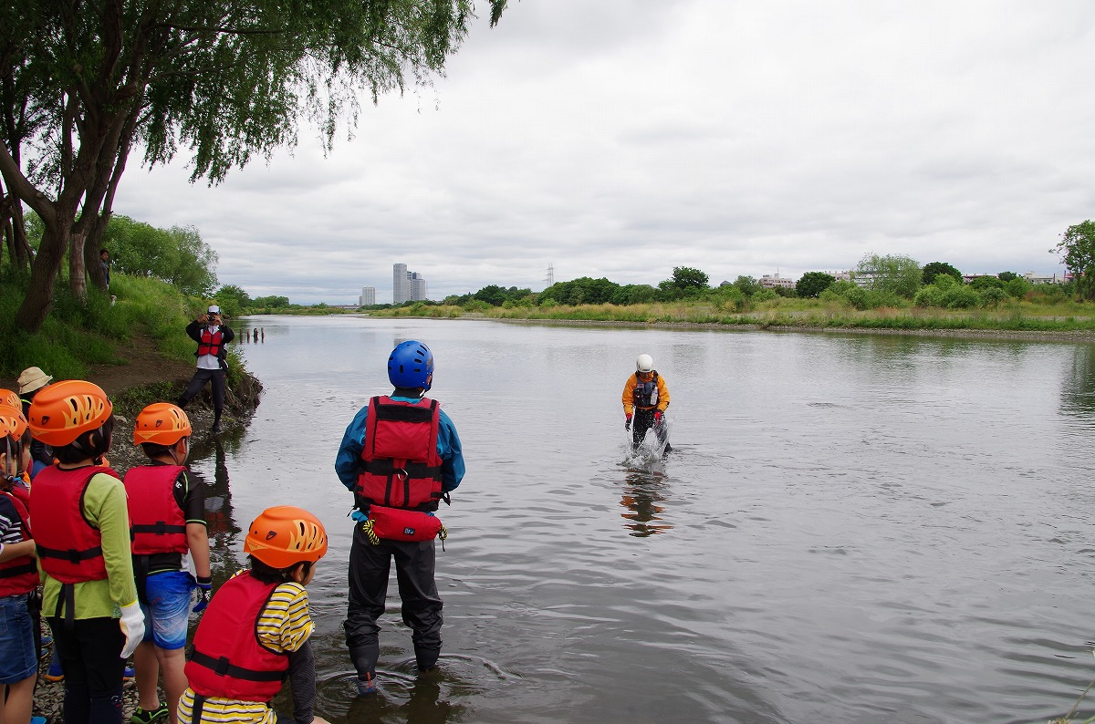 川の安全教室